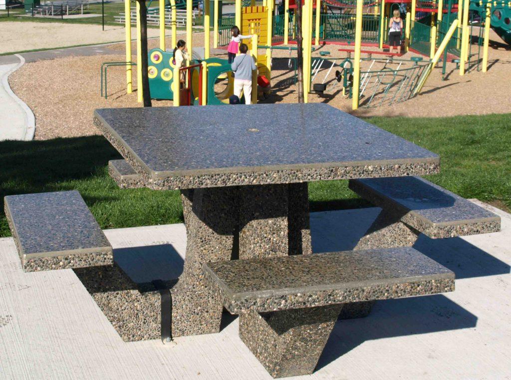Concrete Picnic Tables Edmonton Randolph Indoor And