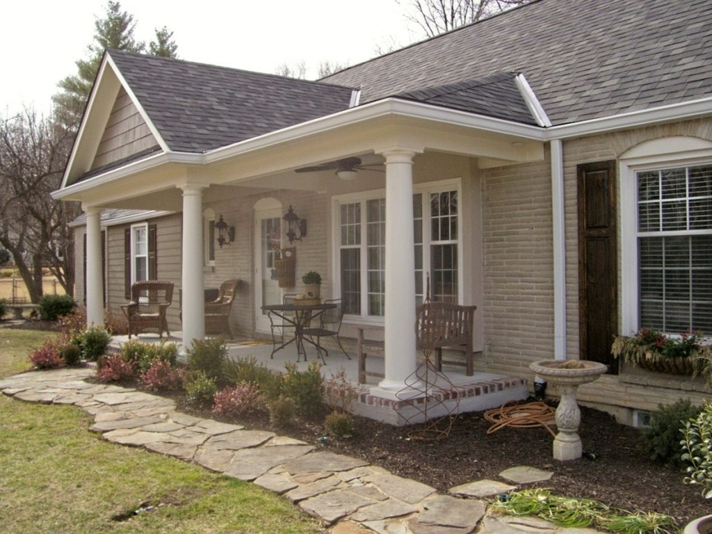 Adding A Front Porch To Ranch