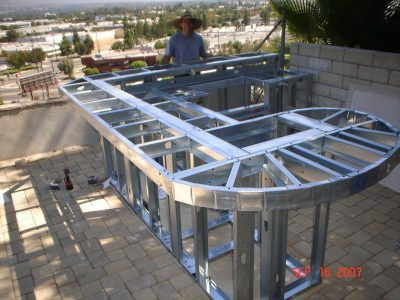 Outdoor Kitchen Steel Frame Kit Archives Randolph Indoor And