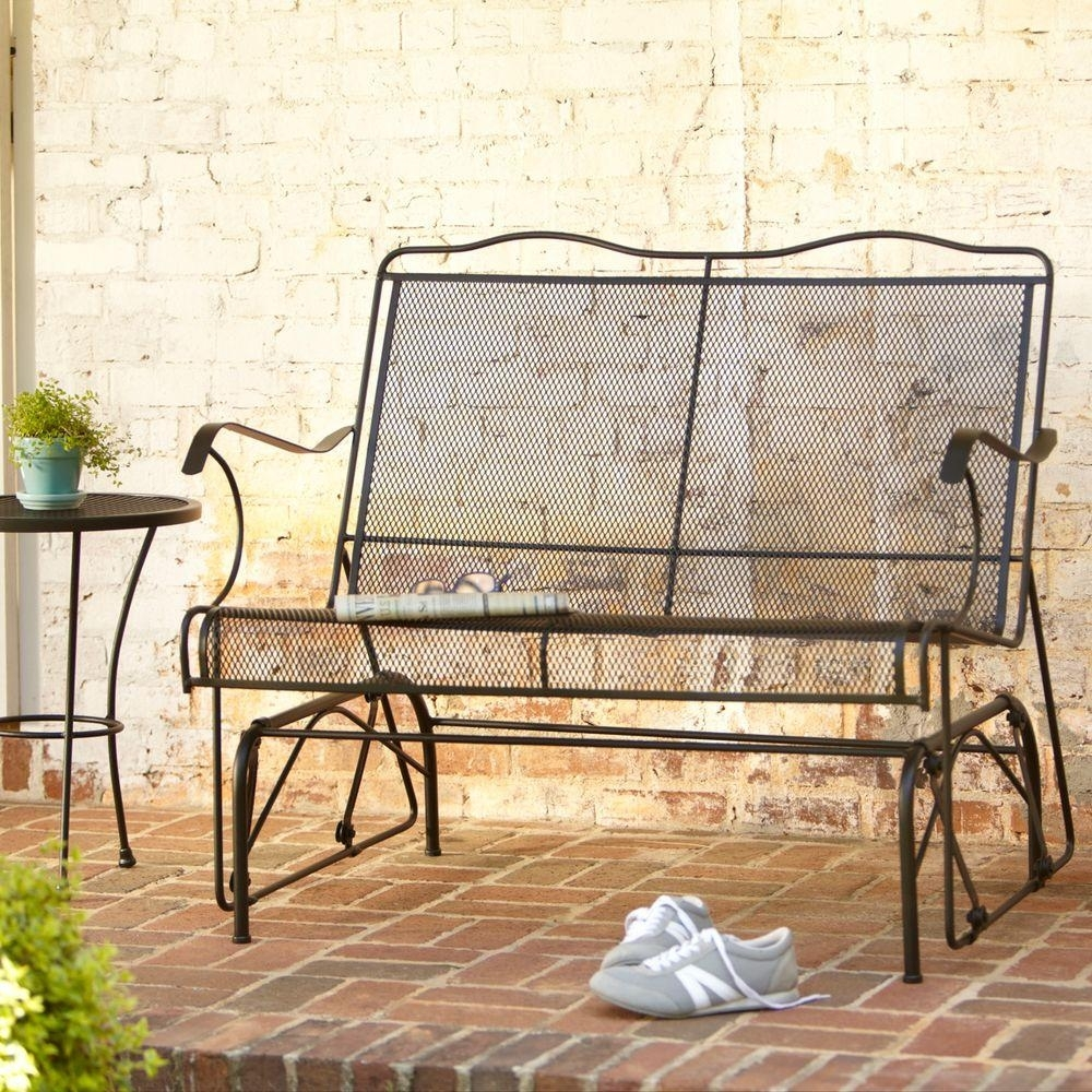 Vintage Simmons Metal Furniture Porch Glider Randolph