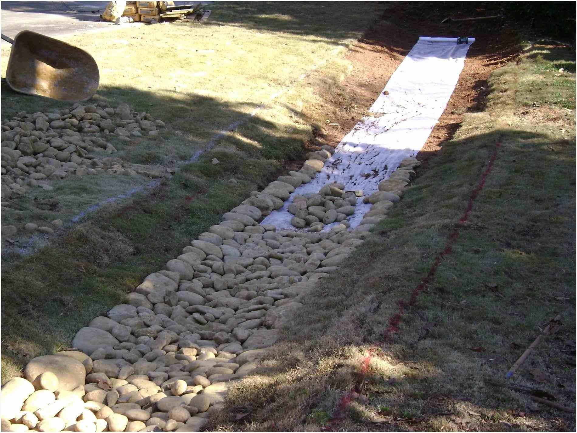 Backyard Drainage Ditch Landscaping Ideas Randolph
