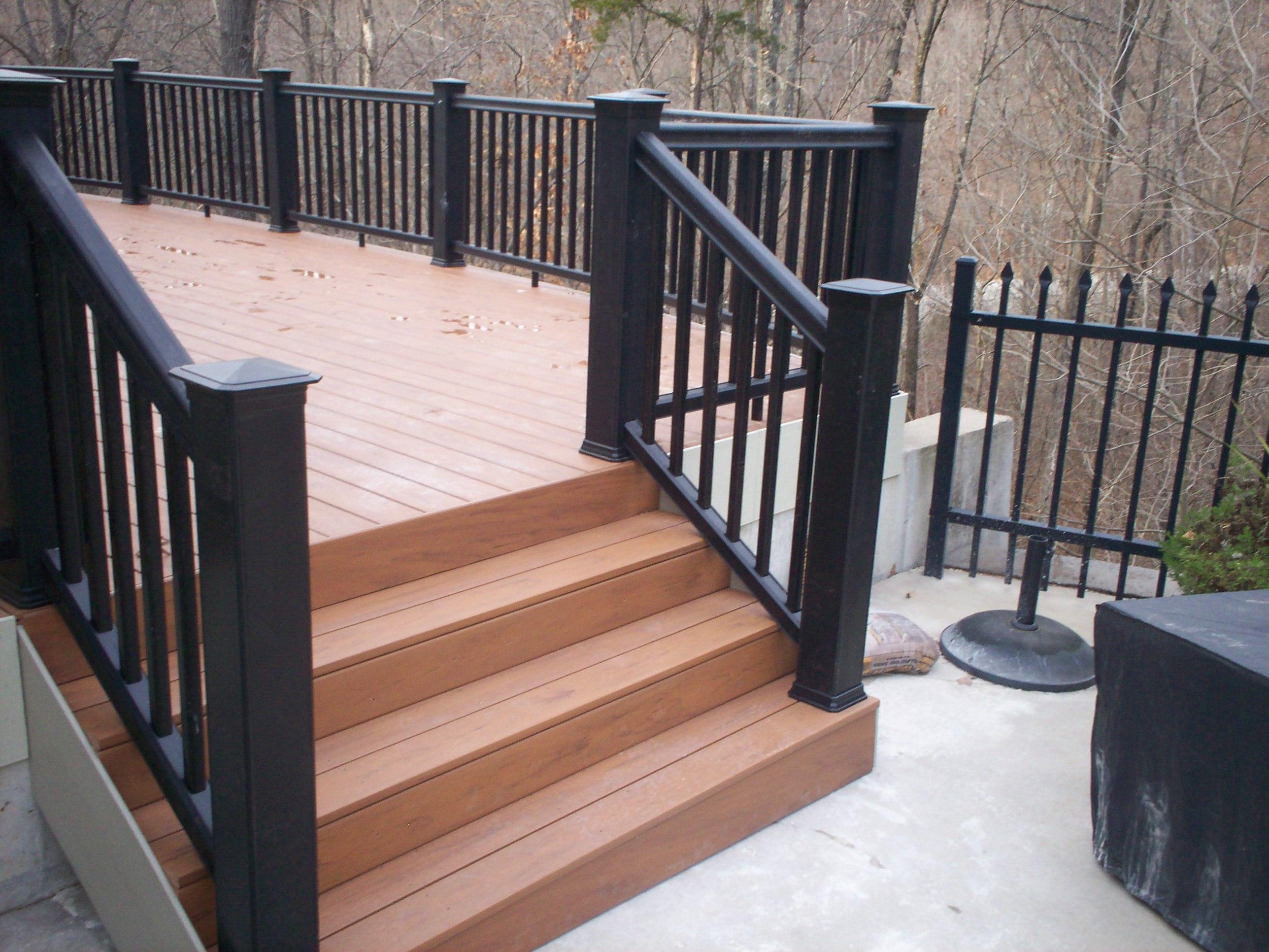 Black Iron Porch Railing Randolph