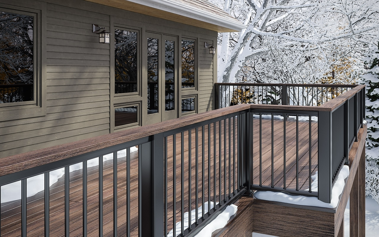 Black And White Porch Railing Randolph Indoor And