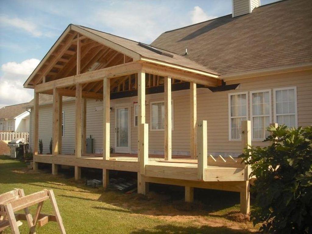 Porch Roof Framing Design