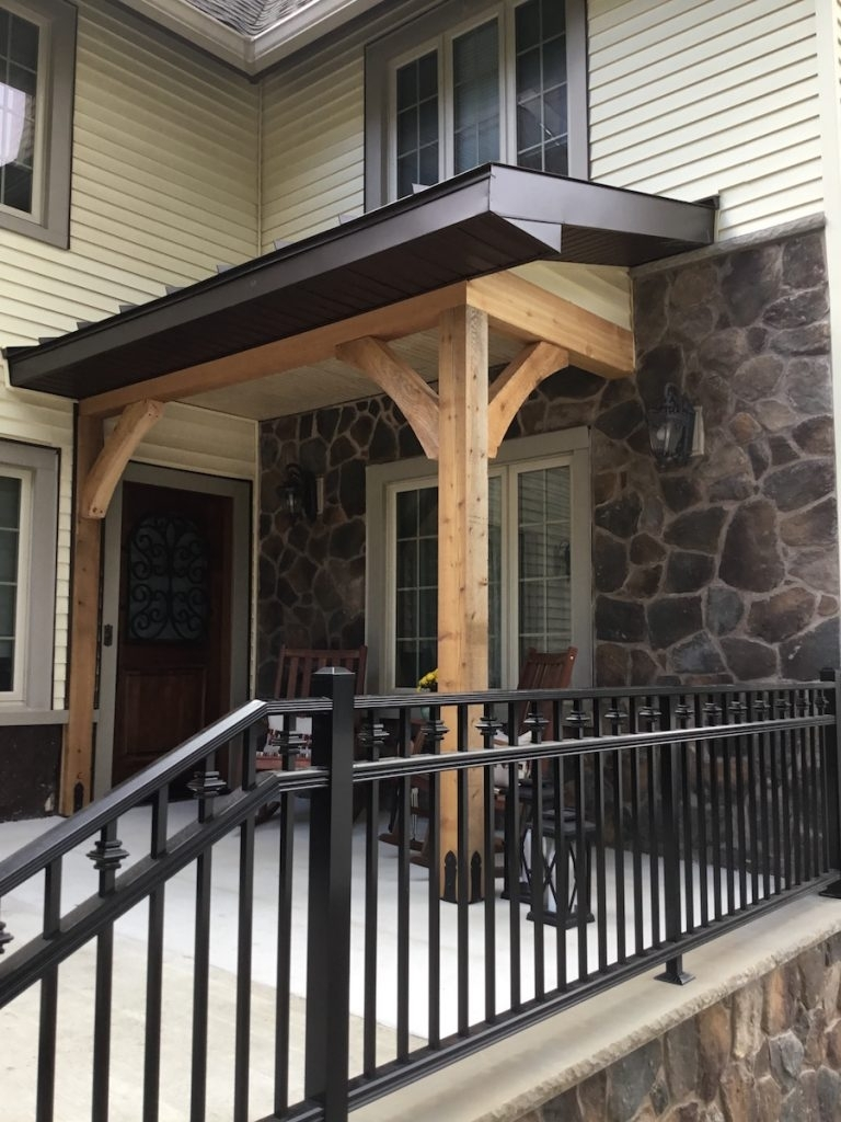 Front Porch Ideas With Cedar Posts Randolph Indoor And