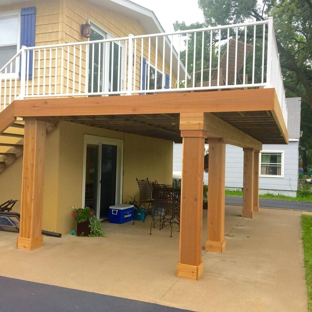 Front Porch Ideas With Cedar Posts