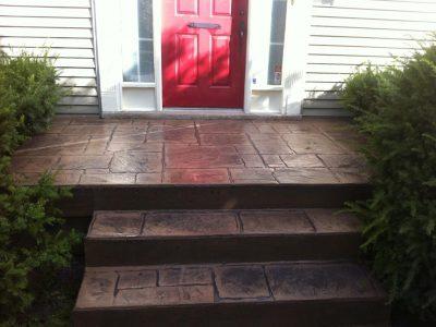 Concrete Porch Floor Covering Ideas