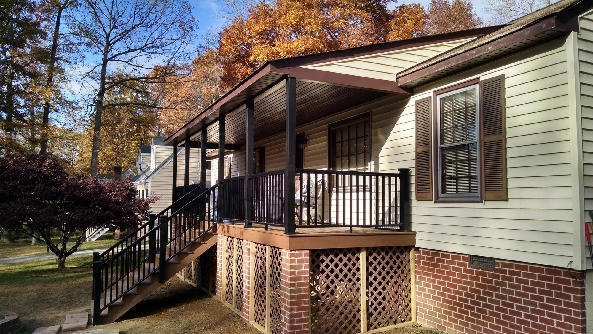 Cost Of Adding A Covered Front Porch Randolph Indoor And