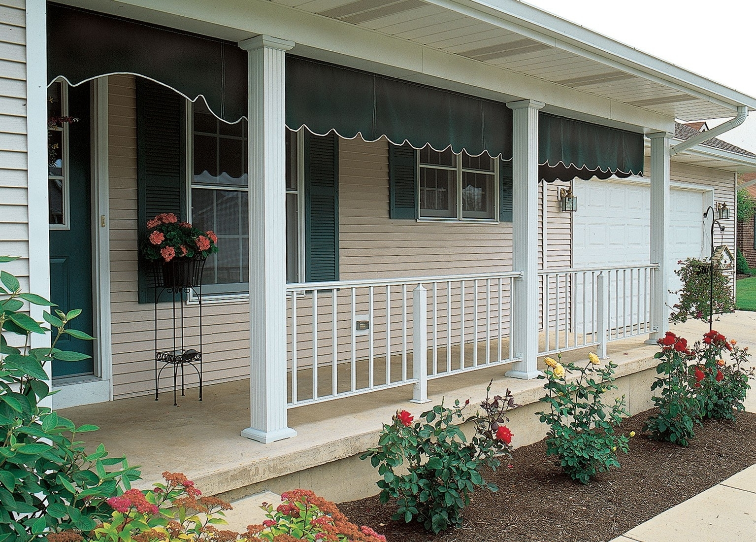 Cover Metal Porch Columns Randolph Indoor And Outdoor Design