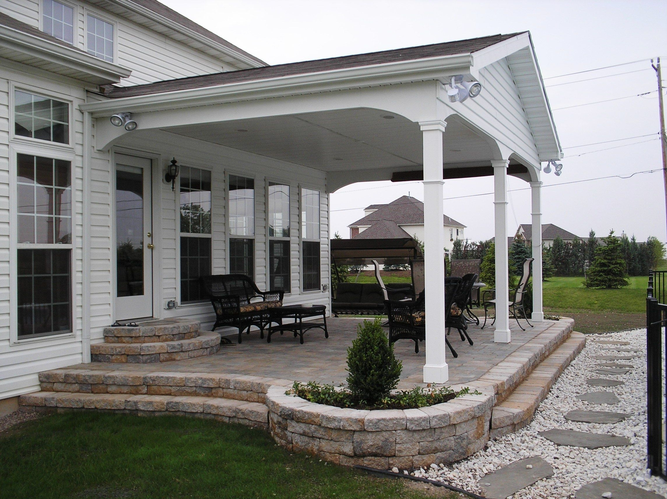 Covered Back Porch Ideas Pictures — Randolph Indoor and ... on Covered Back Deck Ideas id=79044