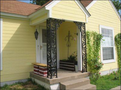 Wring Wrought Iron Porch Columns Archives Randolph