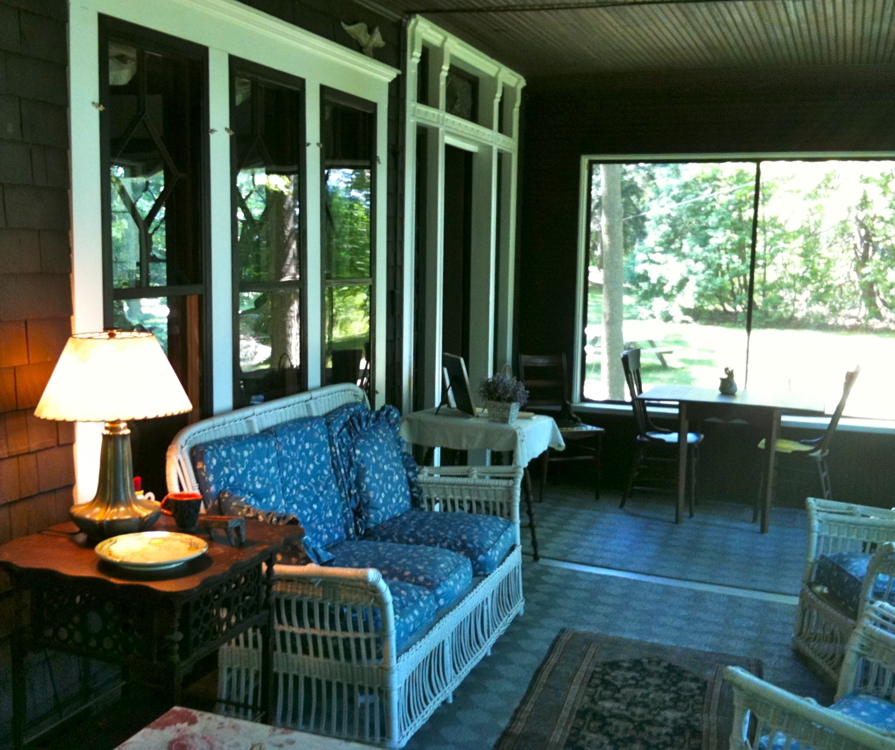 Enclosed Front Porch Ideas And Its Advantages — Randolph ... on Small Enclosed Patio Ideas id=85953