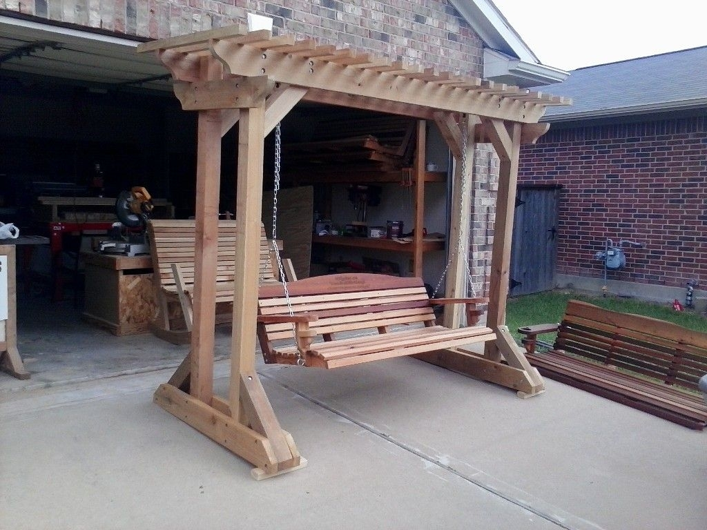 Dream For Free Standing Porch Swing — Randolph Indoor and ...