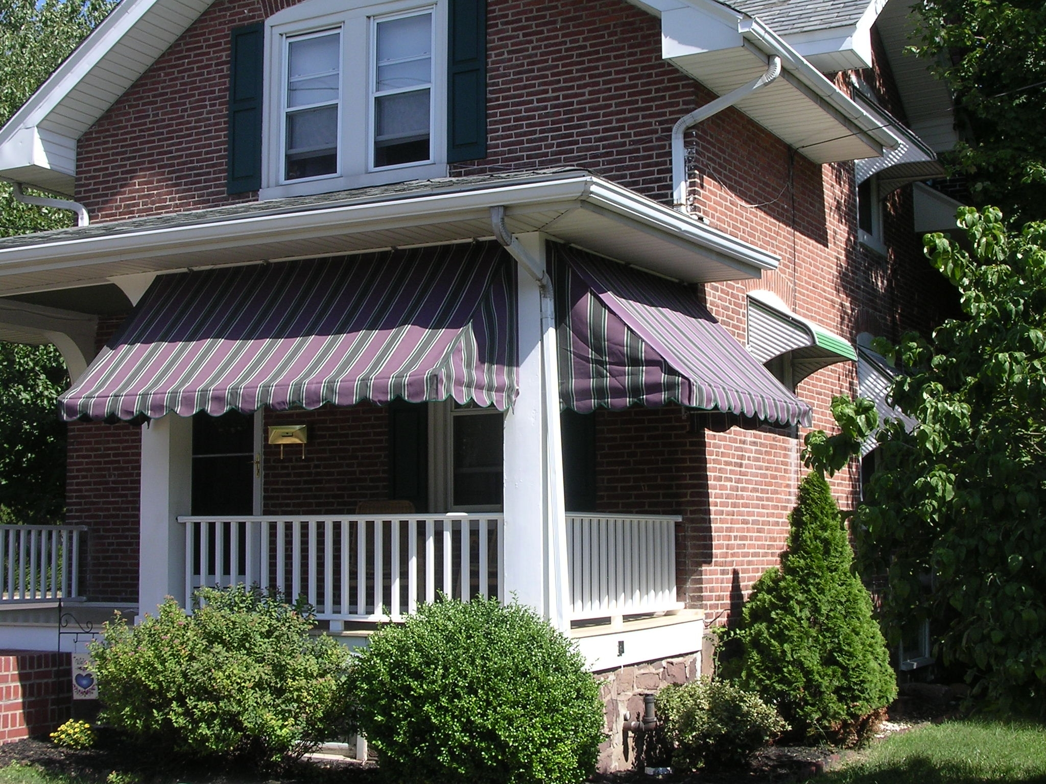 Modern Aluminum Awning Front Porch Randolph Indoor And Outdoor Design