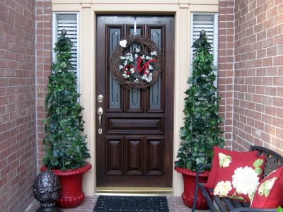 Christmas Topiary For Front Porch.Artificial Topiary Trees For Front Porch Archives Randolph
