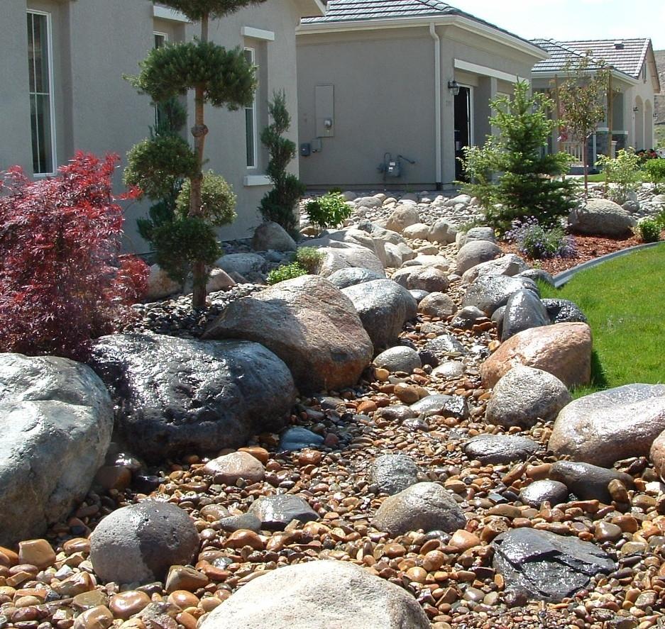 Frontyard Drainage Ditch Landscaping Ideas Randolph