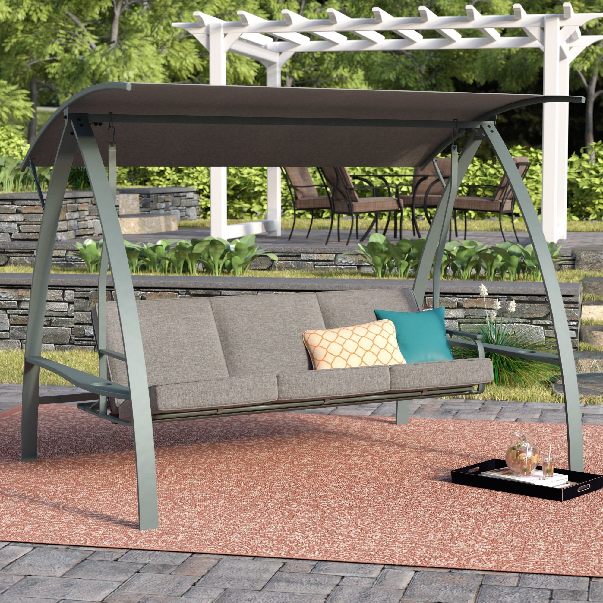 How To Build A Free Standing Frame For Porch Swing