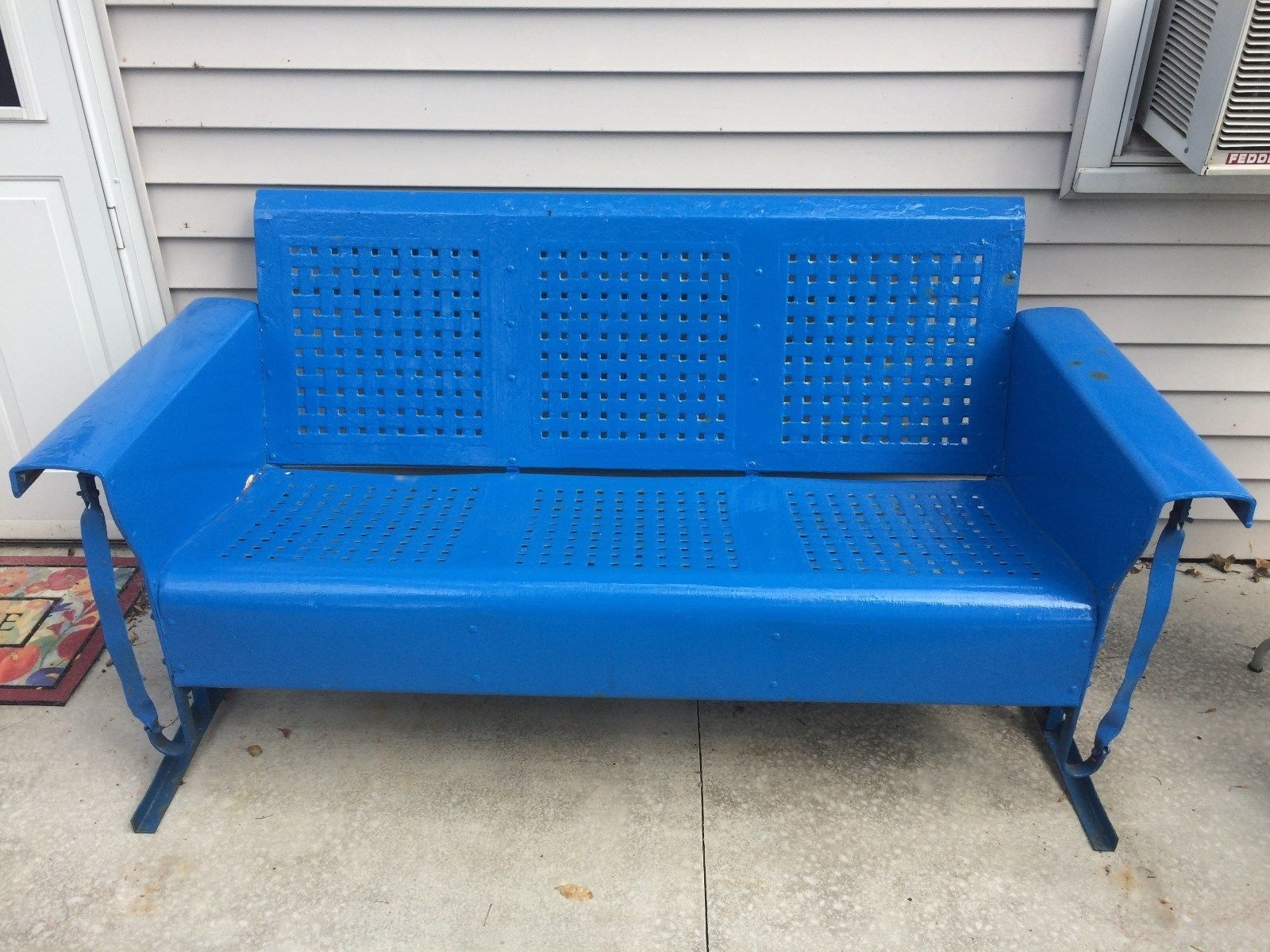 1950s Metal Porch Glider Randolph Indoor And Outdoor Design