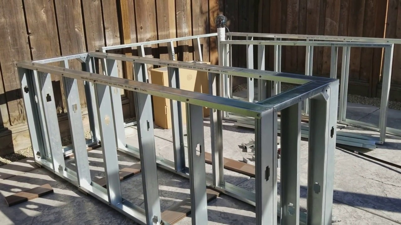 Metal Outdoor Kitchen Frame Kit — Randolph Indoor and ...