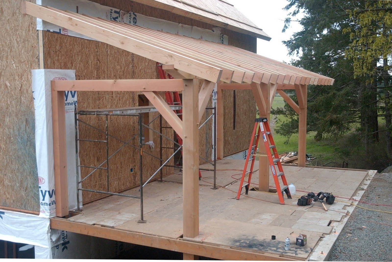 Porch Hip Roof Framing Randolph Indoor And Outdoor Design