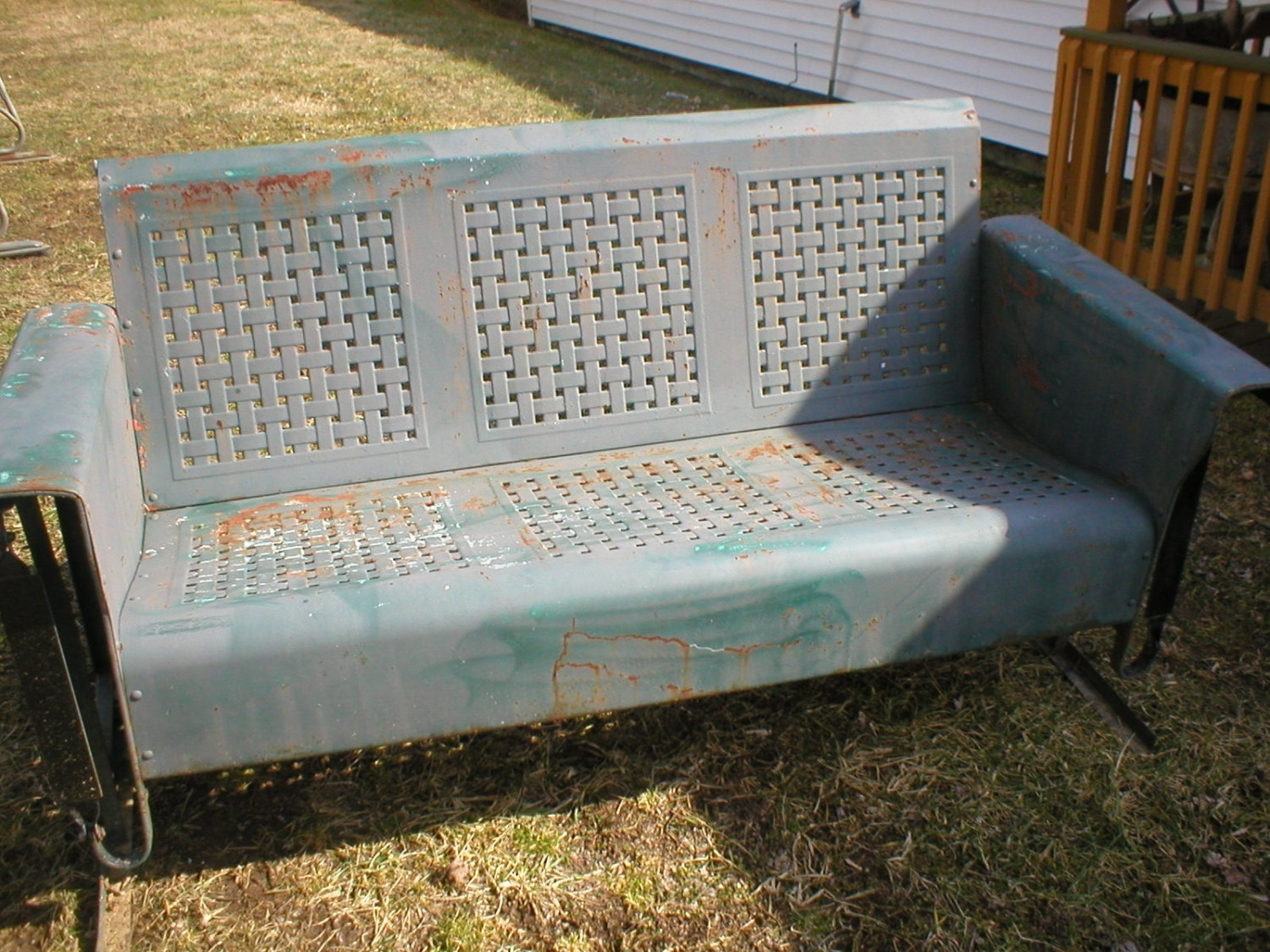 History Of Old Metal Porch Glider