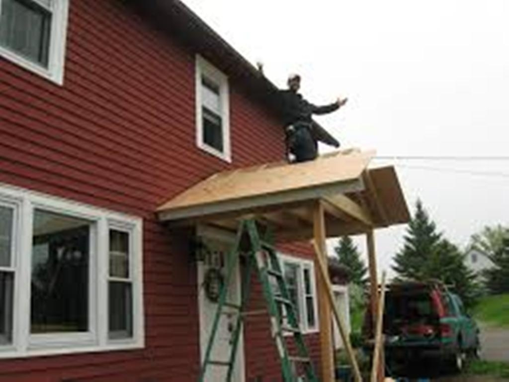 Shed Porch Roof Framing