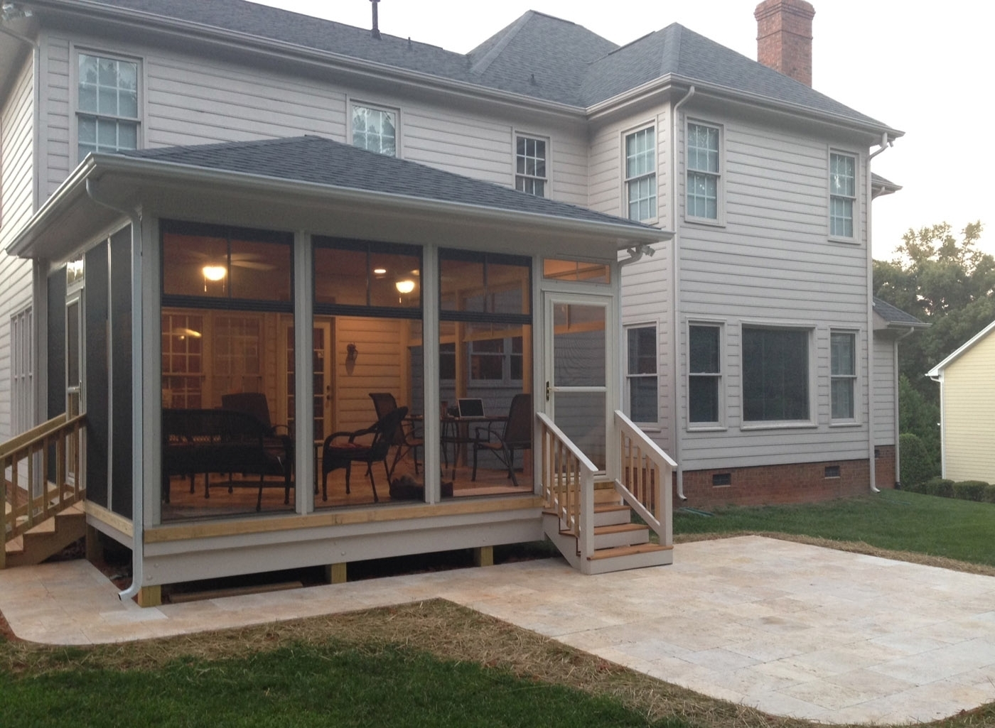 Adding A Covered Porch To House Randolph Indoor And Outdoor Design