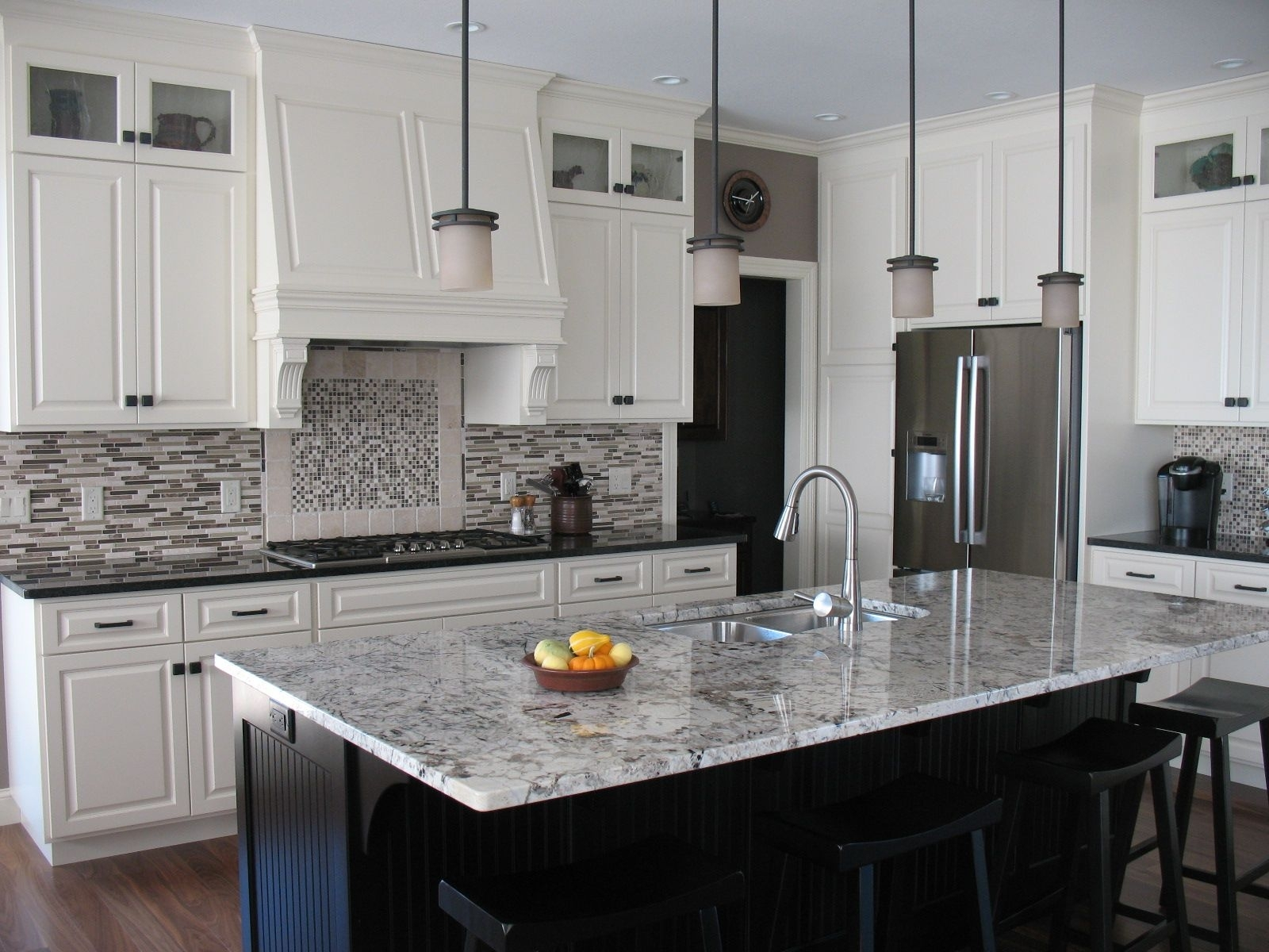 Alaskan White Granite Counter Randolph Indoor And Outdoor Design