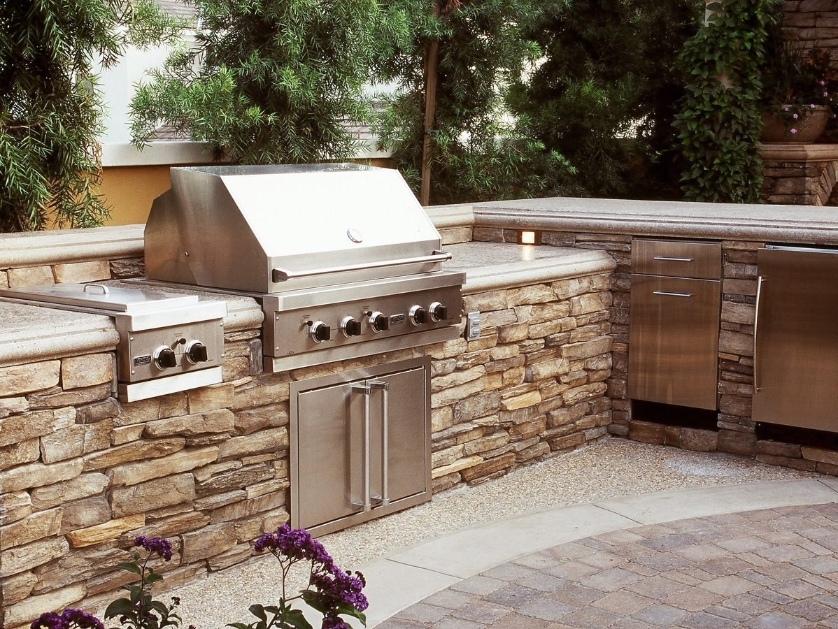 Amazing Eldorado Stone Outdoor Kitchen Randolph Indoor And Outdoor