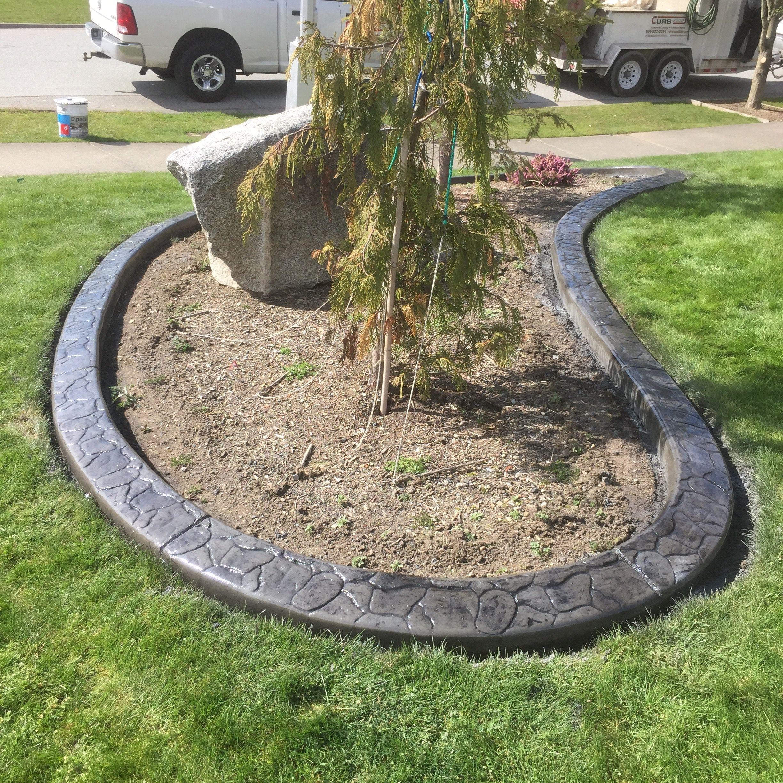 Diy Lawn Edging Ideas: Diy Concrete Landscape Edging Forms