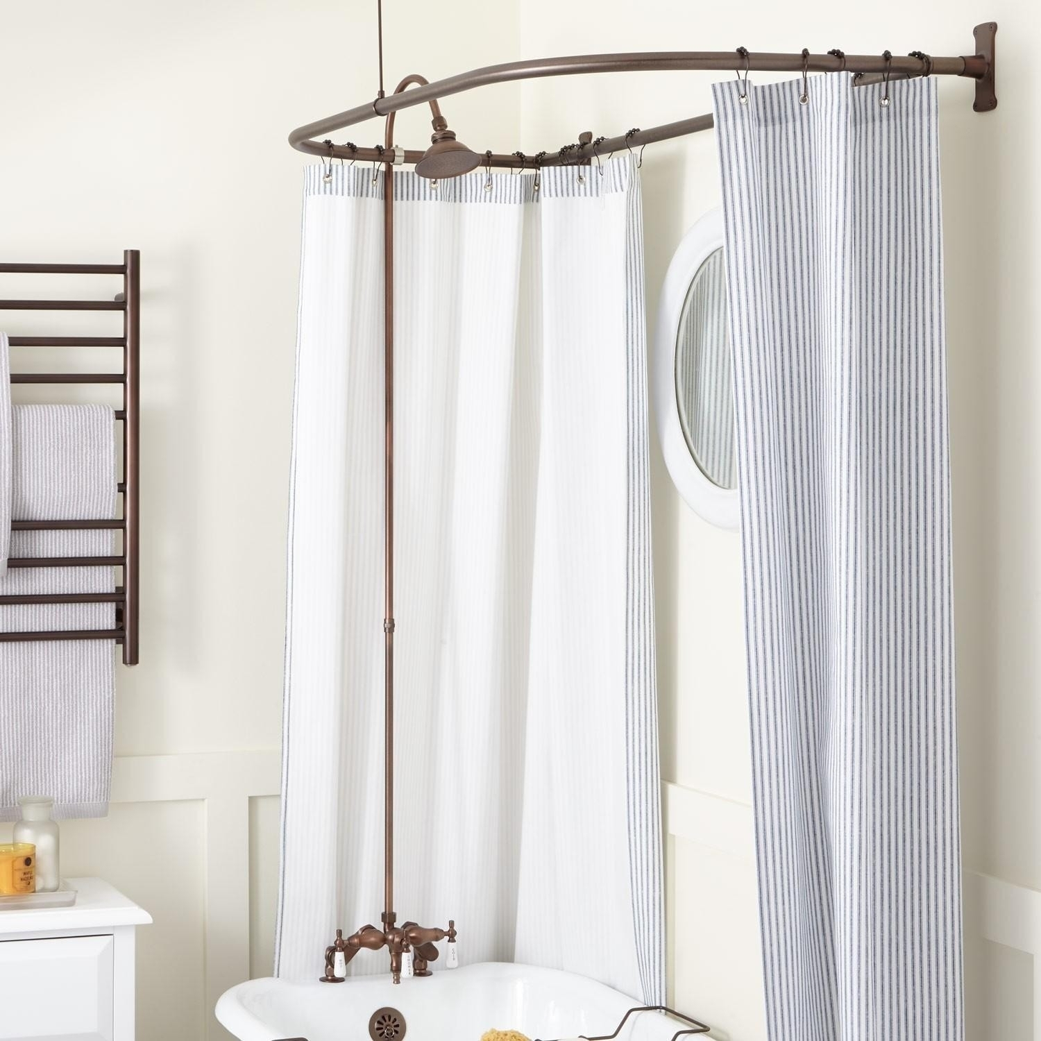 Arc Bendable Shower Curtain Rod Randolph Indoor And