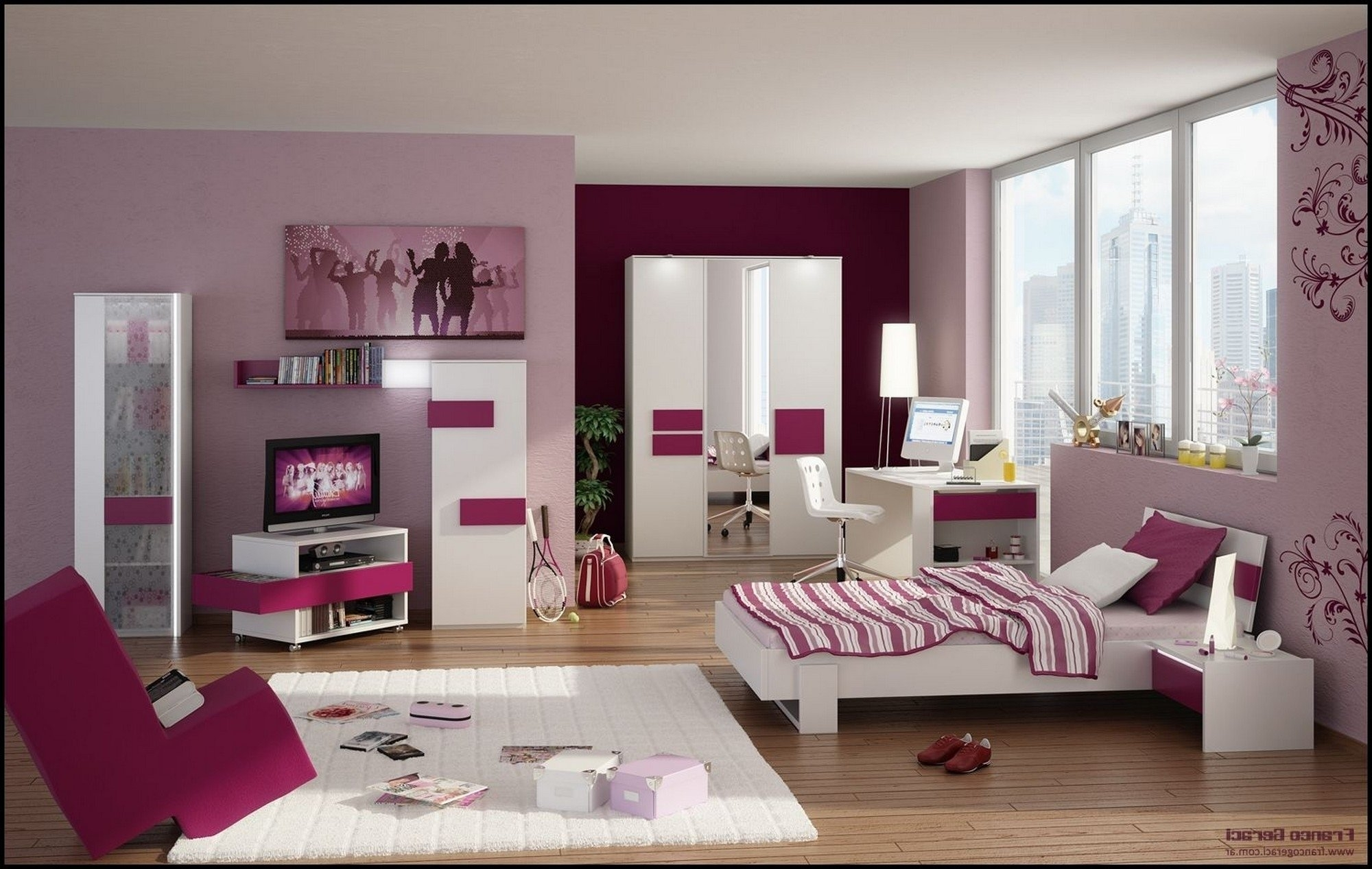 Attirant Bedroom Ideas For Young Adult Women