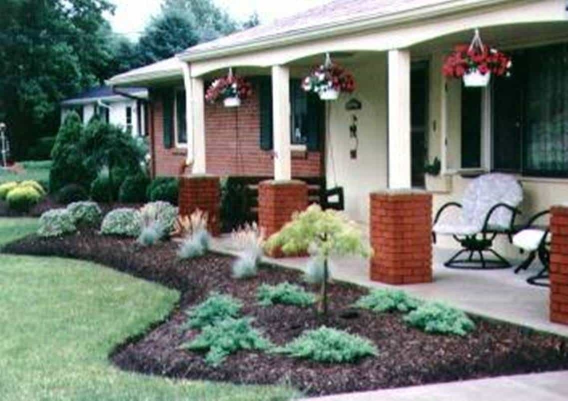 Landscaping Ideas For Brick Ranch Style Homes — Randolph ... on ranch house walkways, ranch house doors, ranch house decor, ranch house furniture, ranch house driveways, ranch house landscaping designs, ranch style design interior, cabin patio design, ranch house limestone, ranch living room design, ranch house patio cover, ranch house front patio, ranch house construction, ranch house fireplaces, ranch house fencing, ranch house decks, ranch house lighting, ranch house stone, ranch house outdoor patio, ranch home interior design,