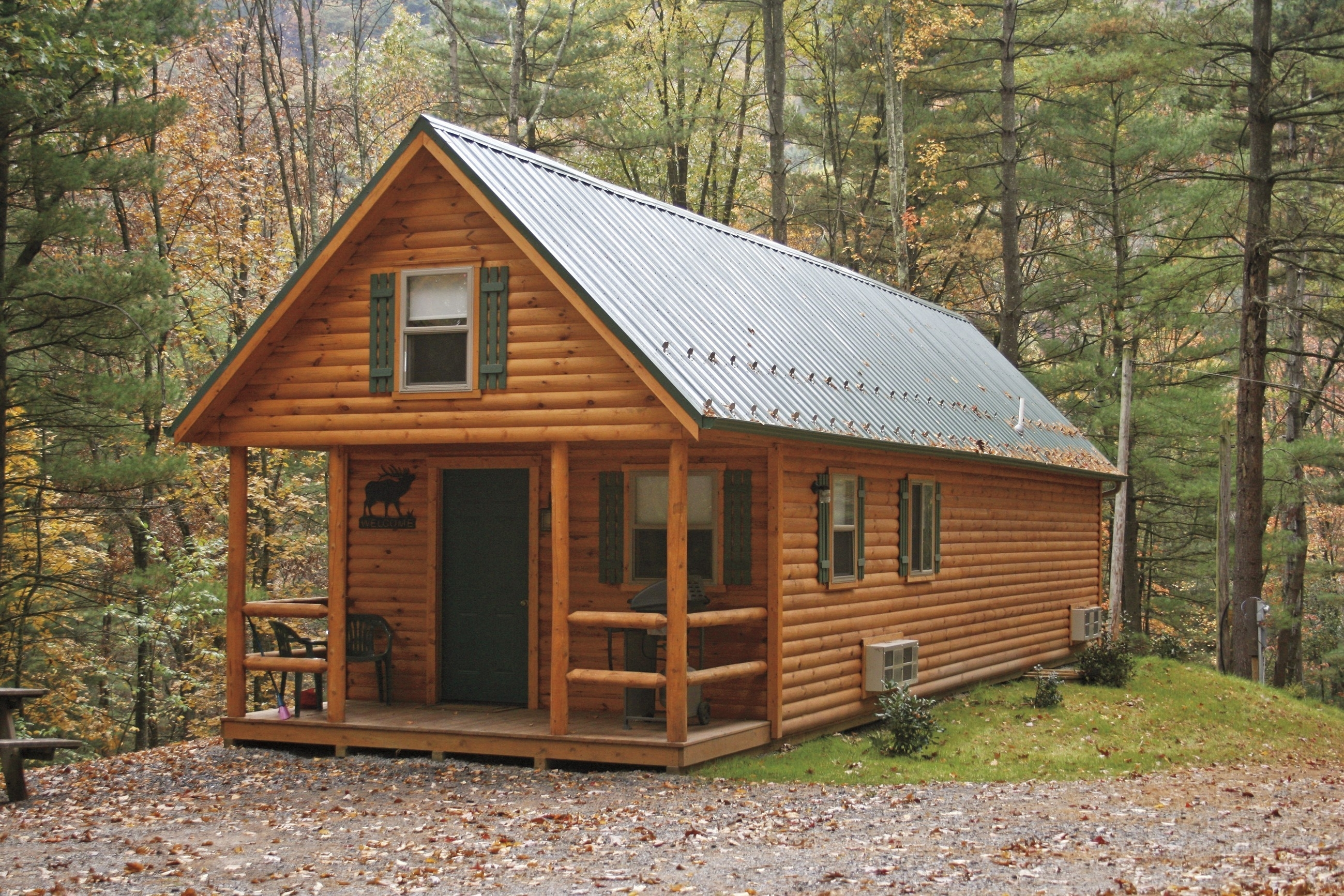 Floor Plan Log Cabin Homes With Wrap Around Porch — Randolph ...