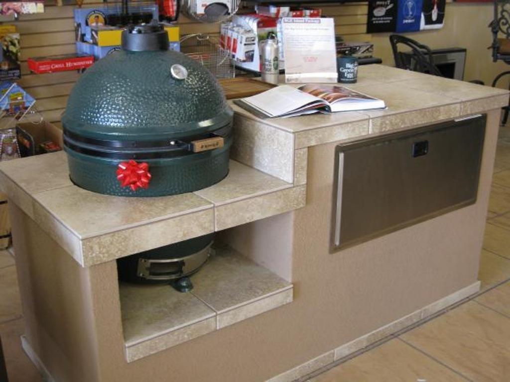 Big Green Egg Built In Outdoor Kitchen — Randolph Indoor and ...
