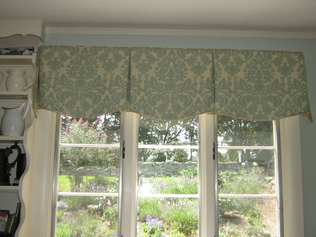 Box Pleated Valance Patterns Randolph Indoor And Outdoor