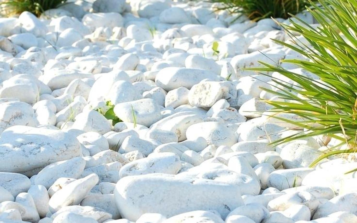Crystal White Rocks For Landscaping Randolph Indoor And