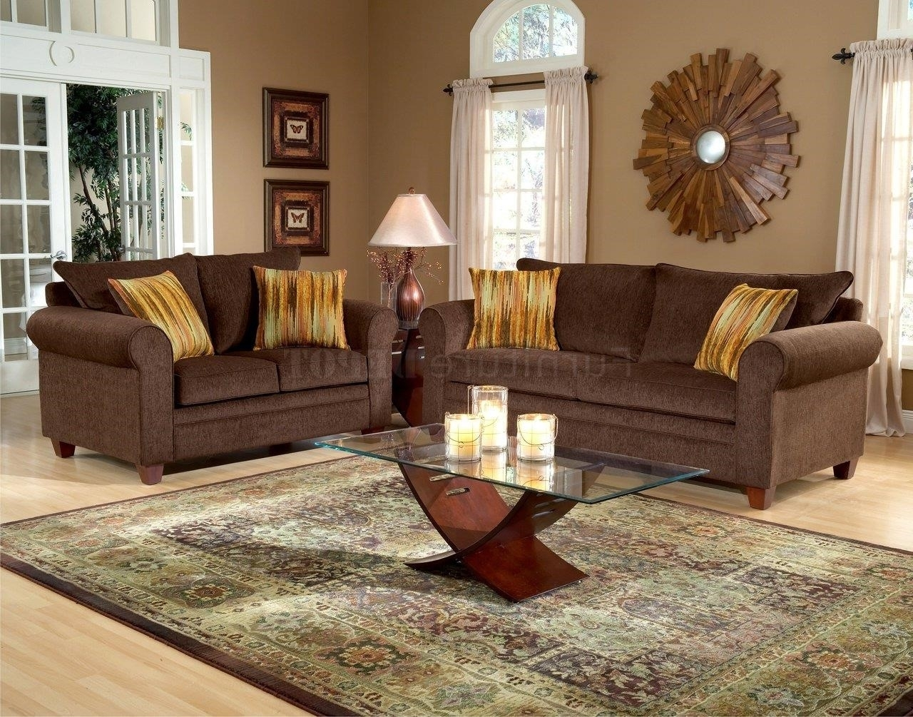 Dark Brown Couch Decor Randolph Indoor And Outdoor Design