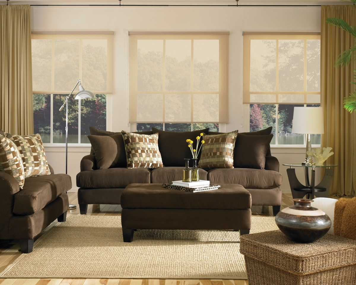 Terrific Chocolate Brown Couch Decor Randolph Indoor And Outdoor Design Theyellowbook Wood Chair Design Ideas Theyellowbookinfo
