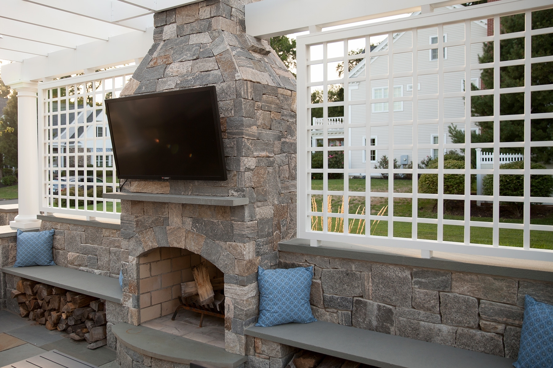 Cost For Outdoor Stone Fireplace