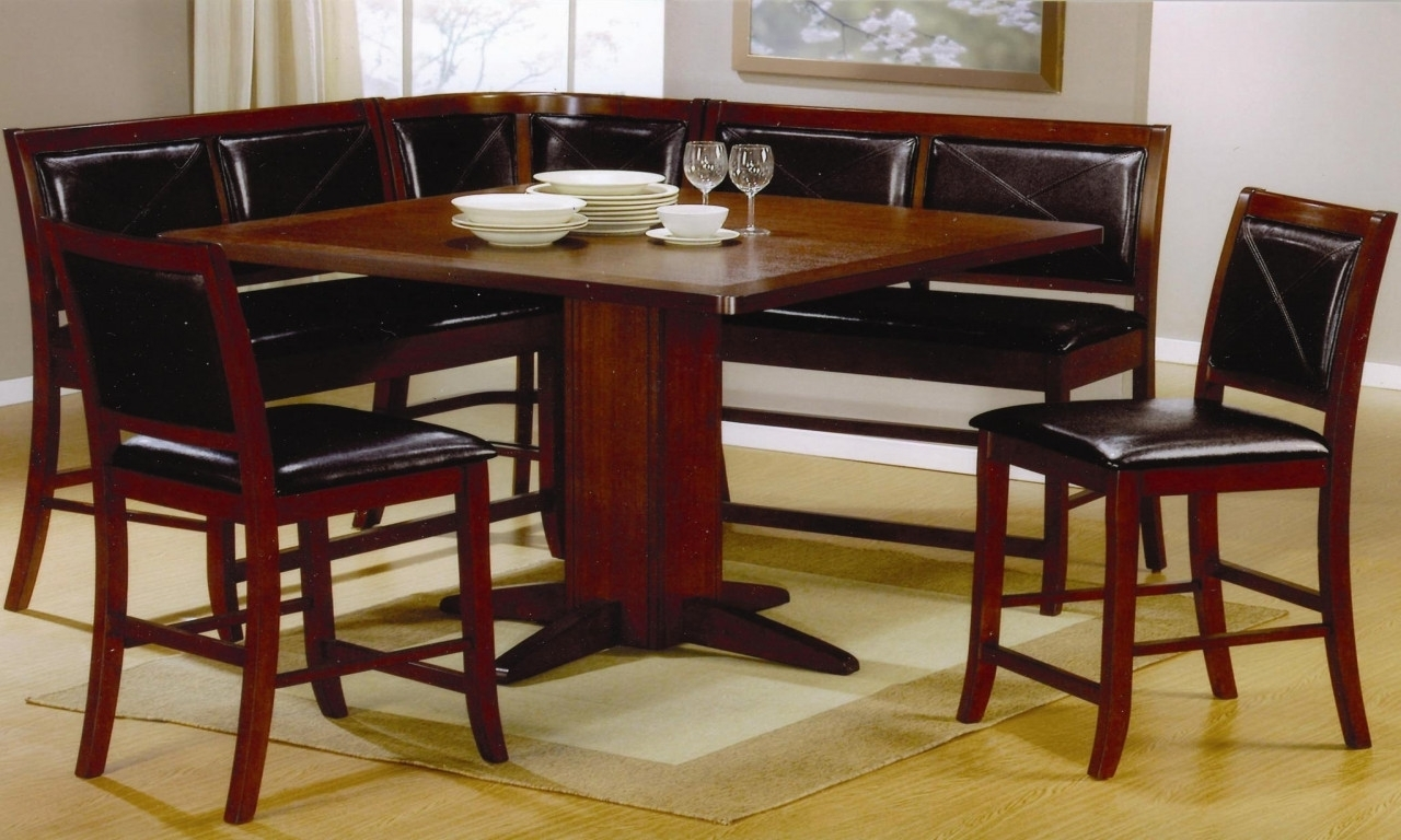 Enjoy Breakfast With Corner Booth Dining Set Randolph