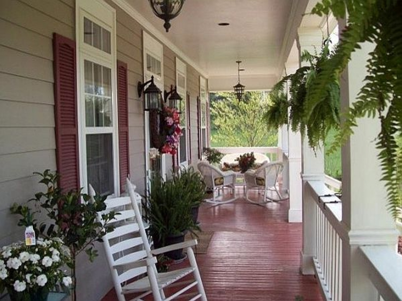 Country Primitive Porch Decorating Ideas — Randolph Indoor ...