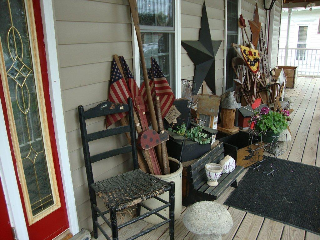Country Primitive Decorating Ideas For Front Porch Randolph Indoor And Outdoor Design