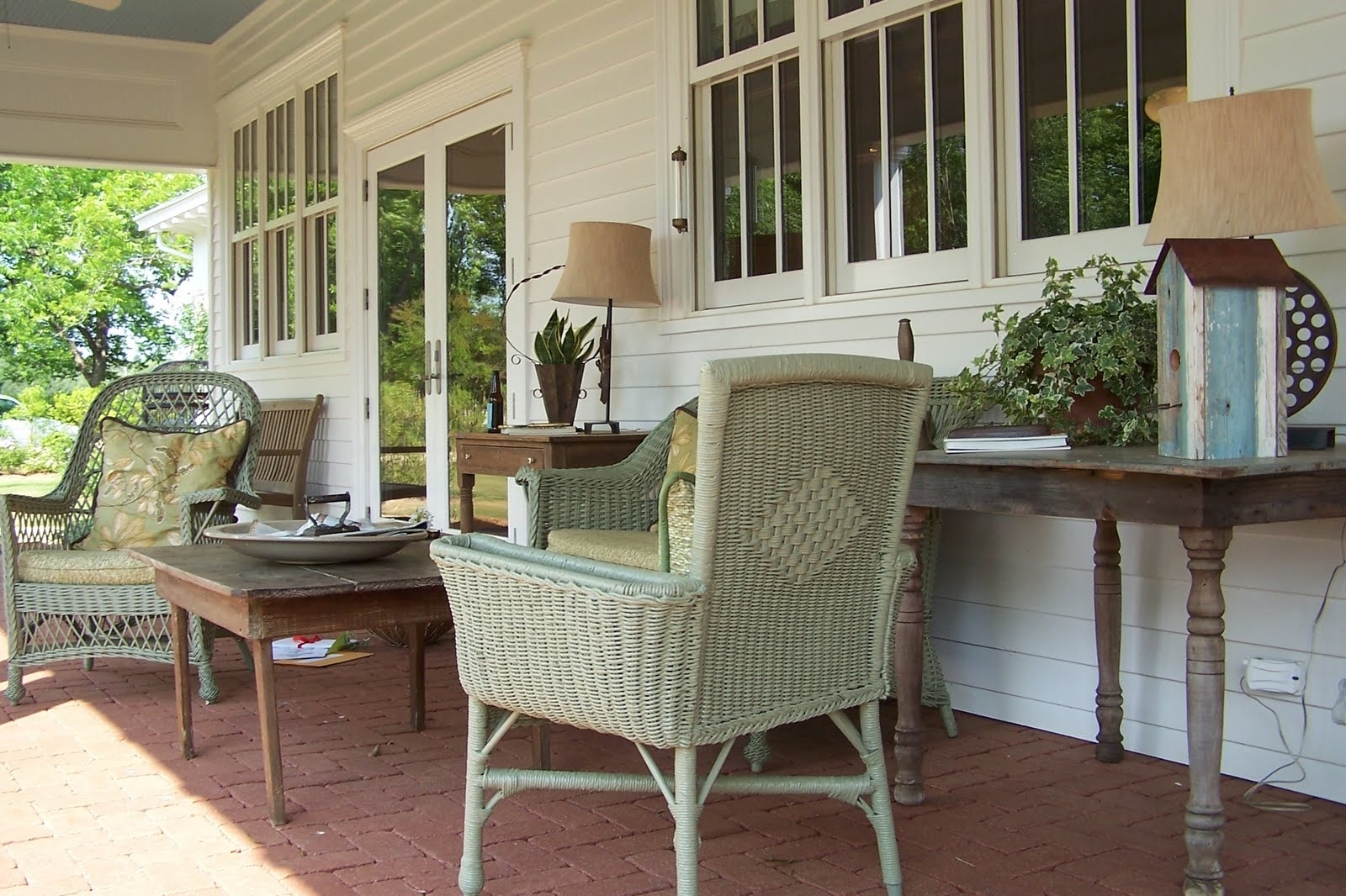 Country Screened Porch Decorating Ideas — Randolph Indoor ...