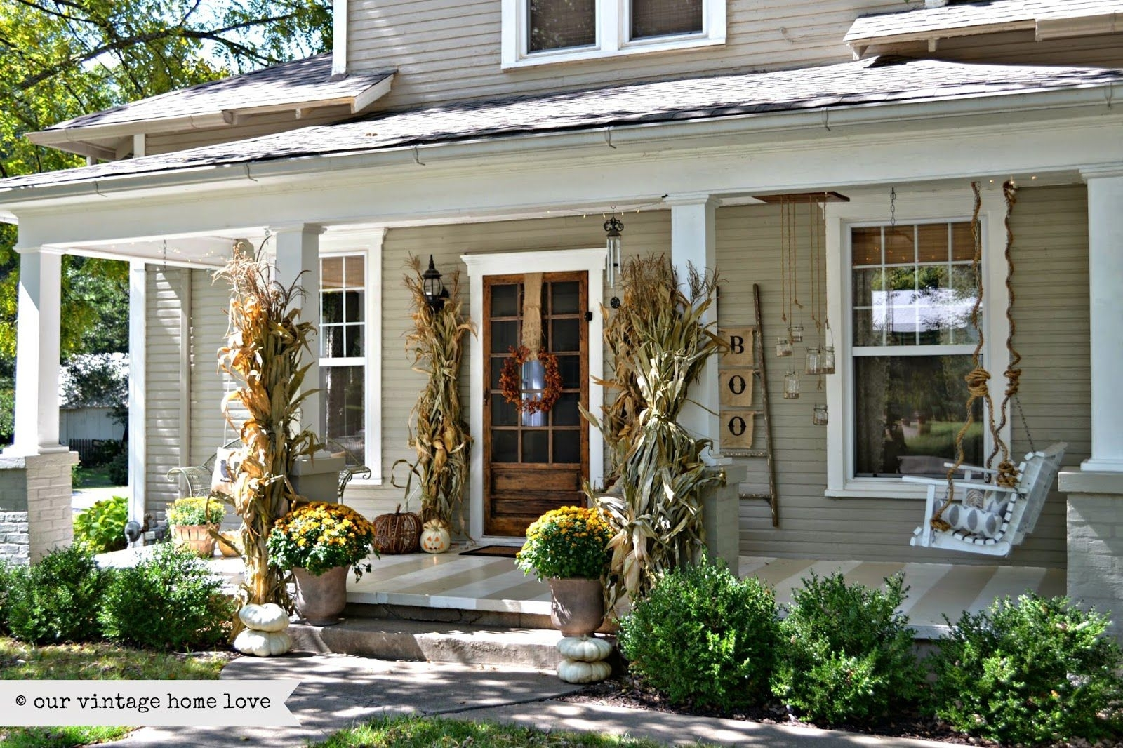 Country Style Back Porch Decorating Ideas — Randolph Indoor ...