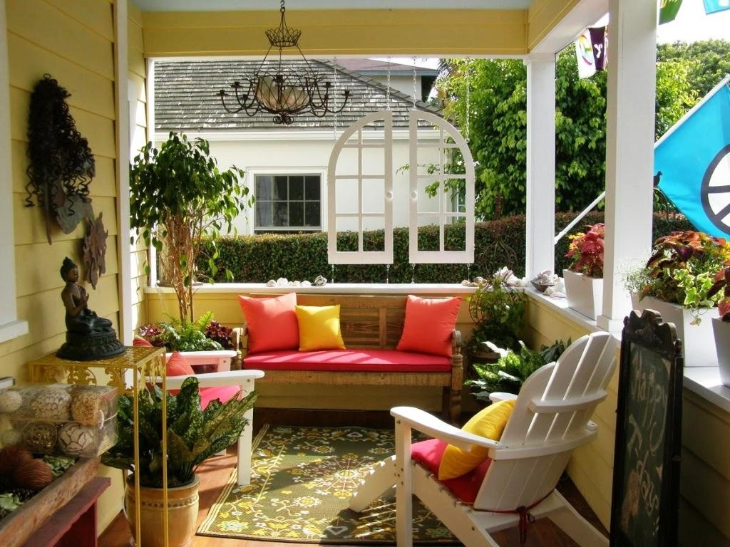 Country Style Corner Porch Decorating Ideas — Randolph ...