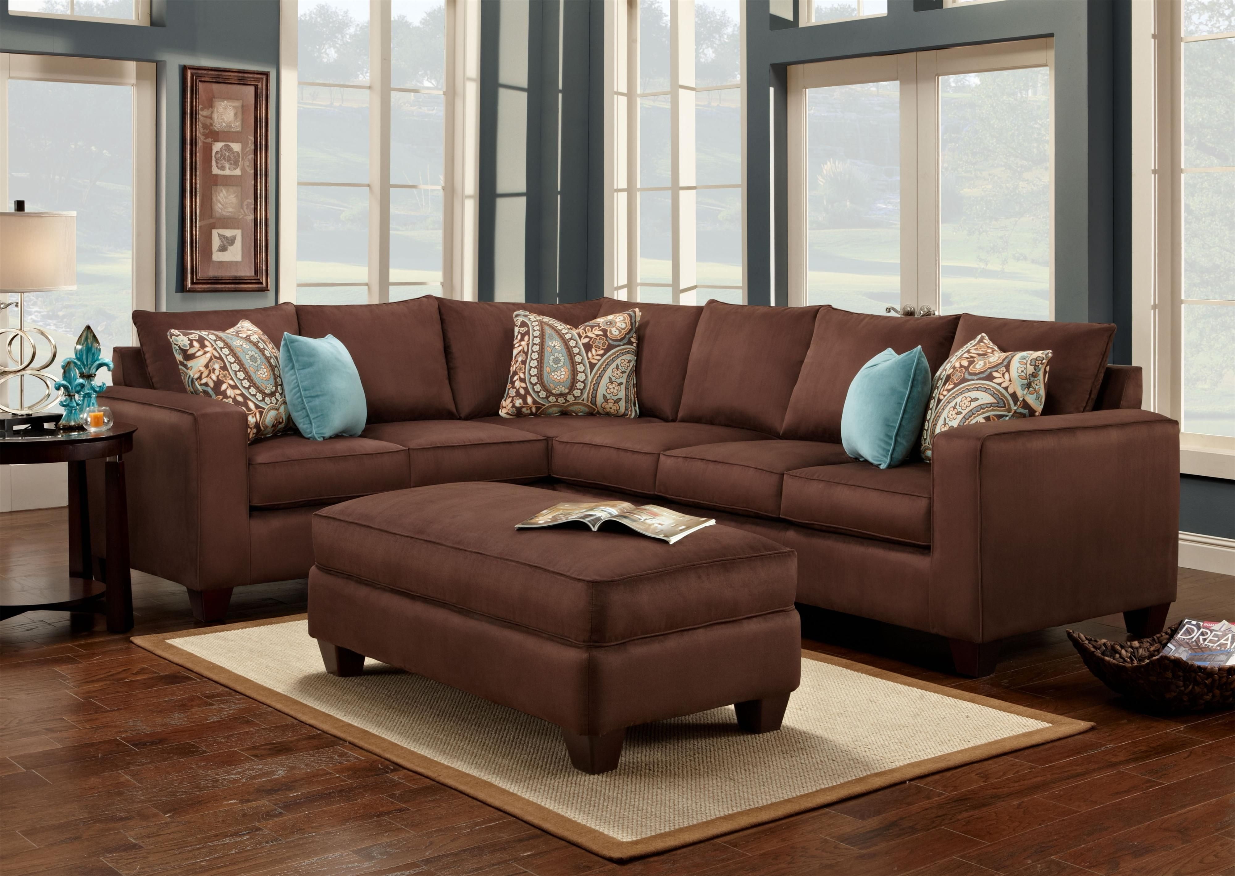 Pleasant Dark Brown Couch Decor Randolph Indoor And Outdoor Design Bralicious Painted Fabric Chair Ideas Braliciousco