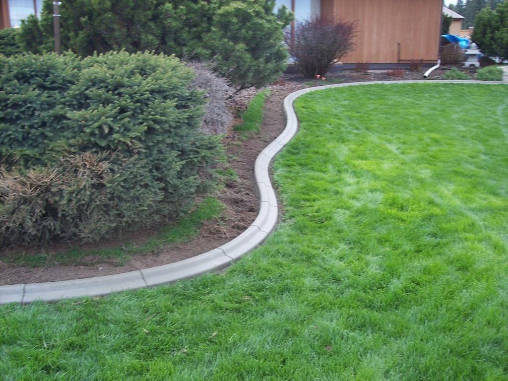 Diy Concrete Landscape Edging Existing Concrete
