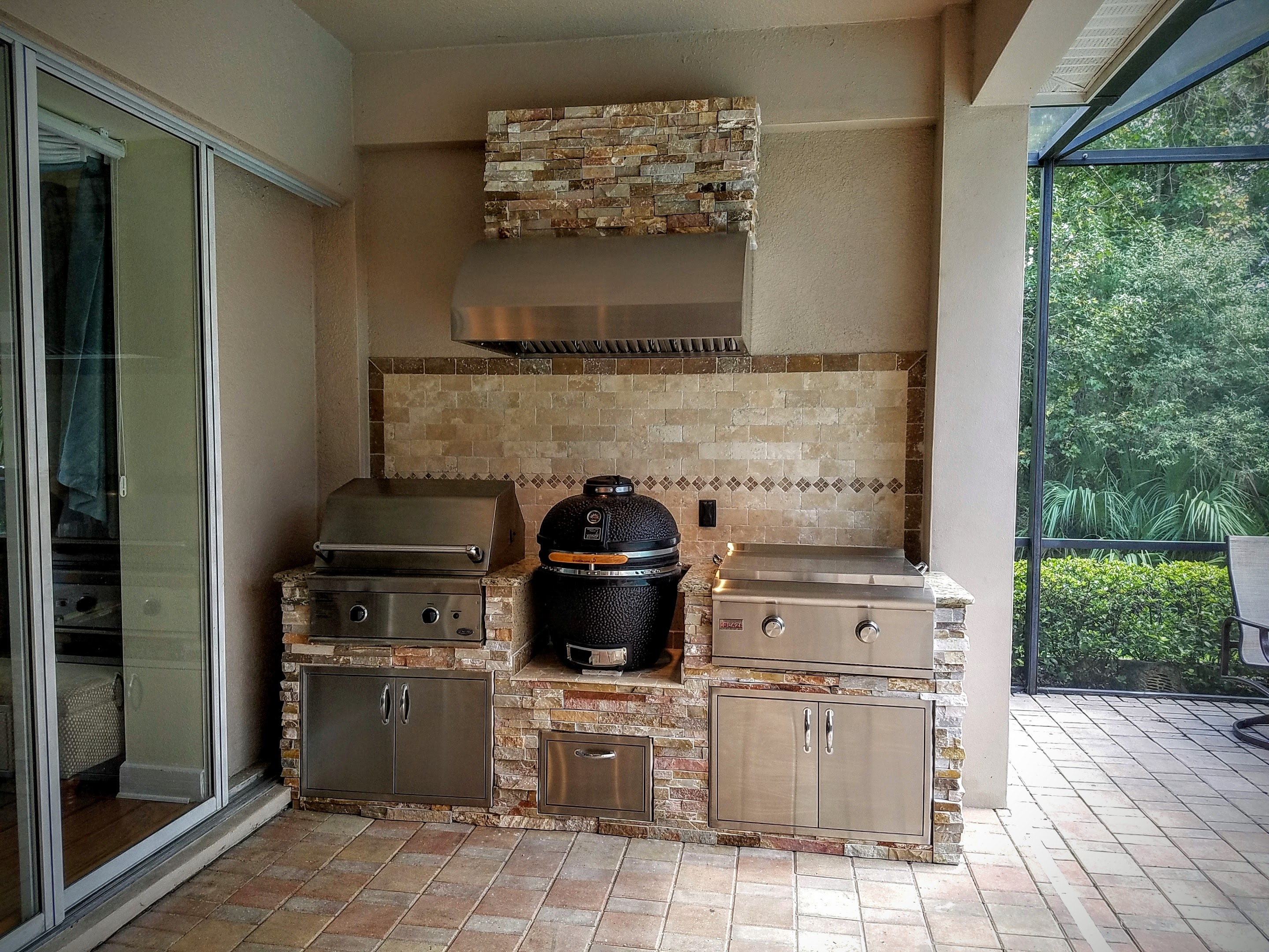Trend Eldorado Stone Outdoor Kitchen Randolph Indoor And Outdoor