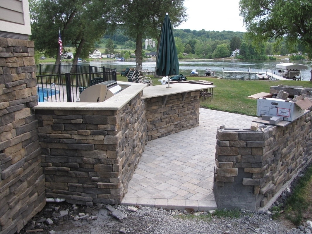 Eldorado Stone Outdoor Kitchen Plans